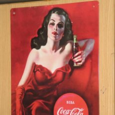 Coleccionismo de Coca-Cola y Pepsi: PLACA O CHAPA COCA COLA. Lote 104121807