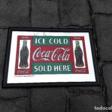 Coleccionismo de Coca-Cola y Pepsi: MARCO ESPEJO COCA COLA. Lote 104943199