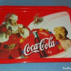 Coleccionismo de Coca-Cola y Pepsi: ANTIGUA BANDEJA COCA-COLA COCA COLA COCACOLA NAVIDAD PAPA NOEL AÑOS 70-80 A ESTRENAR. Lote 105460503