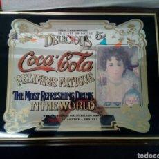 Coleccionismo de Coca-Cola y Pepsi: CARTEL ESPEJO PUBLICIDAD COCA-COLA. Lote 105764538
