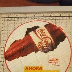 Coleccionismo de Coca-Cola y Pepsi: LOTE 8 PEGATINAS ANTIGUAS COCA COLA. Lote 107830799