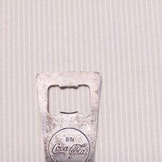 Coleccionismo de Coca-Cola y Pepsi: ANTIGUO ABREBOTELLAS COCA COLA - BEBA COCACOLA. Lote 108323951