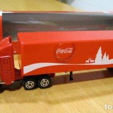 Coleccionismo de Coca-Cola y Pepsi: CAMION TRAILER - COCA COLA DE PAPA NOEL-NUEVO. Lote 108568187