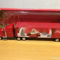 Coleccionismo de Coca-Cola y Pepsi: CAMION TRAILER - COCA COLA DE PAPA NOEL-NUEVO. Lote 108600839