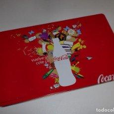 Coleccionismo de Coca-Cola y Pepsi: PLUMIER O CAJA METÁLICA COCA-COLA. Lote 108983415