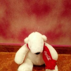 Coleccionismo de Coca-Cola y Pepsi: PELUCHE OSO COCA COLA. Lote 109276931