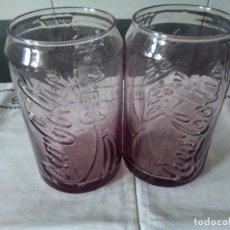 Coleccionismo de Coca-Cola y Pepsi: 13-2 VASOS DE COCACOLA. Lote 109404187