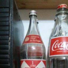 Coleccionismo de Coca-Cola y Pepsi: BOTELLA COCA COLA ROMBOS AÑOS 60 MUY RARA. Lote 110011344