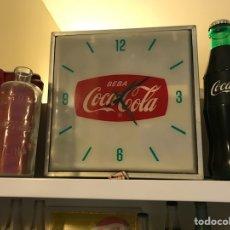 Coleccionismo de Coca-Cola y Pepsi: RELOJ COCA COLA AÑOS 50 ESPAÑA. Lote 110889724