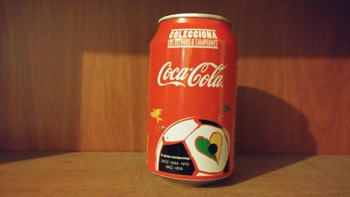 Lata vacía de coca-cola · edición fifa world cu - Sold