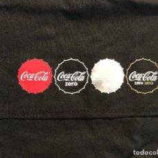 Coleccionismo de Coca-Cola y Pepsi: DELANTAL CAMARERO COCA COLA ,ZERO ,ZERO ZERO LIGHT. Lote 111107875