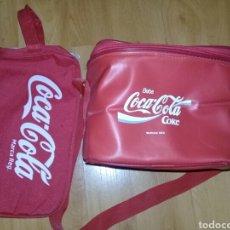 Coleccionismo de Coca-Cola y Pepsi: BOLSA DE MANO Y BOLSA DE HOMBRO DE FRIO. Lote 111386459