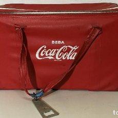 Coleccionismo de Coca-Cola y Pepsi: NEVERA CON ABRIDOR DE COCACOLA. Lote 111576003