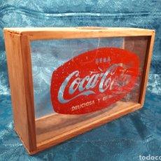 Coleccionismo de Coca-Cola y Pepsi: HUCHA PUBLICITARIA DE COCA COLA.. Lote 111607468