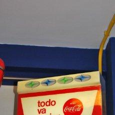 Coleccionismo de Coca-Cola y Pepsi: LUMINOSO COCA-COLA ESPAÑOL. ORIGINAL DE LOS AÑOS 1950S. PRIMER MODELO QUE SE HIZO.. Lote 112030215