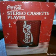 Coleccionismo de Coca-Cola y Pepsi: STEREO CASSETTE PLAYER COCA COLA - WALKMAN COCA COLA - 1989. Lote 112036639