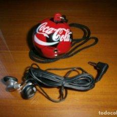 Coleccionismo de Coca-Cola y Pepsi: RADIO COCA-COLA EN FORMA DE BALÓN DE FUTBOL.. Lote 112047175
