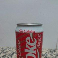 Coleccionismo de Coca-Cola y Pepsi: ANTIGUA LATA COCA COLA SIN CAFEINA. Lote 112251851