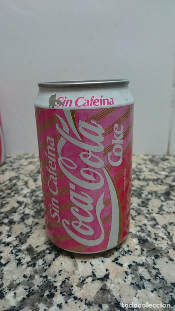 ANTIGUA LATA COCA COLA SIN CAFEINA (Coleccionismo - Botellas y Bebidas - Coca-Cola y Pepsi)