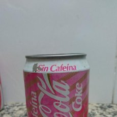 Coleccionismo de Coca-Cola y Pepsi: ANTIGUA LATA COCA COLA SIN CAFEINA. Lote 112252111