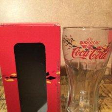 Coleccionismo de Coca-Cola y Pepsi: VASO DE COLECCIÓN COCA COLA NUEVO A ESTRENAR ( COLORES ALEMANIA). Lote 161016913