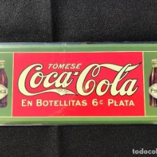 Coleccionismo de Coca-Cola y Pepsi: V40- CHAPA METALICA DE - COCA-COLA -EDITA -PLANETA AGOSTINI DEL 2006. Lote 112637495