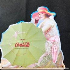 Coleccionismo de Coca-Cola y Pepsi: V40- CHAPA METALICA DE - COCA-COLA -EDITA -PLANETA AGOSTINI DEL 2006. Lote 112638707