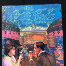 Coleccionismo de Coca-Cola y Pepsi: V40- CHAPA METALICA DE - COCA-COLA -EDITA -PLANETA AGOSTINI DEL 2006. Lote 112641419