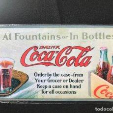 Coleccionismo de Coca-Cola y Pepsi: V40- CHAPA METALICA DE - COCA-COLA -EDITA -PLANETA AGOSTINI DEL 2006. Lote 112642587