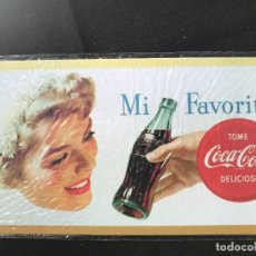 Coleccionismo de Coca-Cola y Pepsi: V40- CHAPA METALICA DE - COCA-COLA -EDITA -PLANETA AGOSTINI DEL 2006. Lote 112642971
