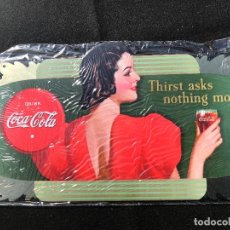 Coleccionismo de Coca-Cola y Pepsi: V40- CHAPA METALICA DE - COCA-COLA -EDITA -PLANETA AGOSTINI DEL 2006. Lote 112643091