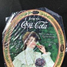 Coleccionismo de Coca-Cola y Pepsi: V40- CHAPA METALICA DE - COCA-COLA -EDITA -PLANETA AGOSTINI DEL 2006. Lote 112643487