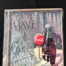 Coleccionismo de Coca-Cola y Pepsi: V40- CHAPA METALICA DE - COCA-COLA -EDITA -PLANETA AGOSTINI DEL 2006. Lote 112644223