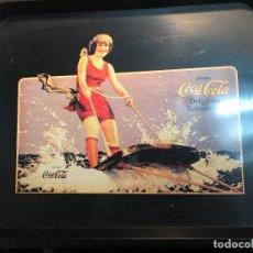 Coleccionismo de Coca-Cola y Pepsi: V40- BANDEJA DE CHAPA METALICA DE - COCA-COLA - . Lote 112652623