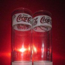 Coleccionismo de Coca-Cola y Pepsi: LOTE 2 VASOS-COCA COLA-COLECCIONISTAS-RAROS+ESCASOS-NOS-VER FOTOS. Lote 112826327