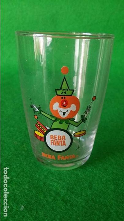 Coleccionismo de Coca-Cola y Pepsi: LOTE DE 4 VASOS FANTA MUSICOS - Foto 3 - 113021055