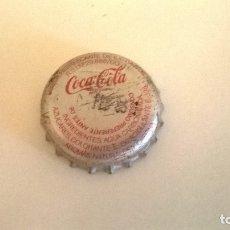 Coleccionismo de Coca-Cola y Pepsi: CHAPA CORONA COCA-COLA. Lote 114019916