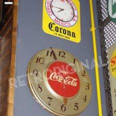 Coleccionismo de Coca-Cola y Pepsi: RELOJ COCA-COLA DE PARED. USA. ORIGINAL DE 1951. Lote 114033123