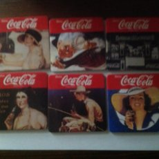 Coleccionismo de Coca-Cola y Pepsi: JUEGO POSAVASOS COCA COLA. Lote 91625234