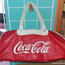 Coleccionismo de Coca-Cola y Pepsi: ANTIGUA BOLSA DE PIEL DE COCA COLA COCACOLA ORIGINAL EN MUY BUEN ESTADO. Lote 114078635