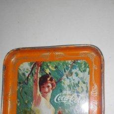 Coleccionismo de Coca-Cola y Pepsi: 4 POSAVASOS COCA COLA METALICOS. Lote 114678499