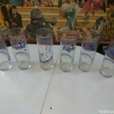 Coleccionismo de Coca-Cola y Pepsi: VASOS FANTA LOTE DE 6 UNID. Lote 114688584