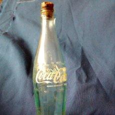Coleccionismo de Coca-Cola y Pepsi: ANTIGUA BOTELLA DE COCA COLA 35CL.,LETRAS SERIGRAFIADAS.AÑOS 60-70.. Lote 114775715