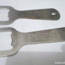 Coleccionismo de Coca-Cola y Pepsi: ANTIGUOS ABRIDORES PEPSI. Lote 115282295