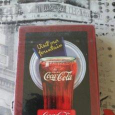 Coleccionismo de Coca-Cola y Pepsi: COCA COLA CARTAS BARAJAS PLAYING CARDS BICYCLE. Lote 115375399