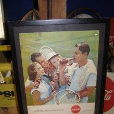 Coleccionismo de Coca-Cola y Pepsi: 1960 COCA-COLA. CALENDARIO SEPTIEMBRE OCTUBRE. ESPAÑOL. ORIGINAL. TENIS. SEIX BARRAL.. Lote 115608919
