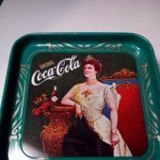 Coleccionismo de Coca-Cola y Pepsi: COCA COLA - BANDEJA CON PUBLICIDAD . Lote 115903067