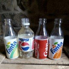 Coleccionismo de Coca-Cola y Pepsi: LOTE FANTA (LIMÓN Y NARANJA),COCACOLA Y PEPSY. Lote 116760035