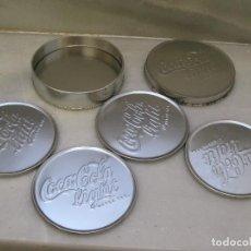 Coleccionismo de Coca-Cola y Pepsi: 4 POSAVASOS DE COCA COLA LIGHT.. Lote 116823835