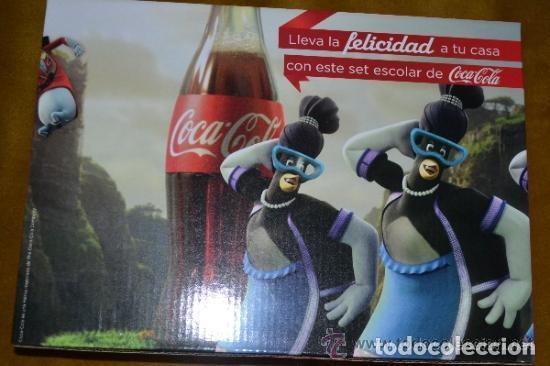 Coleccionismo de Coca-Cola y Pepsi: JUEGO SET ESCOLAR INFANTIL COCA-COLA CON DESPERTADOR - Foto 2 - 116916839